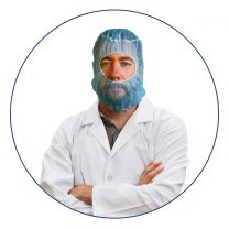 Detectable Disposable Balaclava Hoods (Pack of 100)