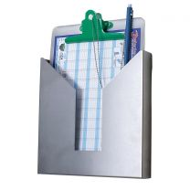 Stainless Steel Wall Mountable Document Holder
